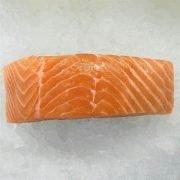 Air Flown Norway Fresh Salmon Fillet Portioned Boneless Skin On 200g Meat