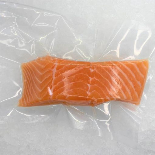 Air Flown Norway Fresh Salmon Fillet Portioned Boneless Skin On 200g Pack Meat
