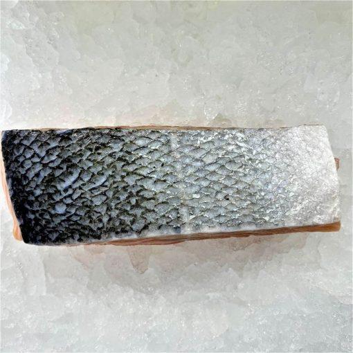 Air Flown Norway Fresh Salmon Fillet Portioned Boneless Skin On 200g Skin