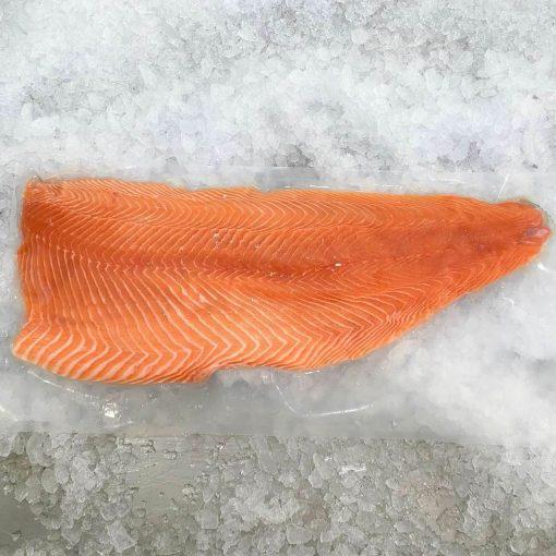 Air Flown Norway Fresh Salmon Fillet Whole Boneless Skin On 1.4kg Meat