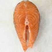 Air Flown Norway Fresh Salmon Steak Cut Cutlet With Skin Bone In 250g Meat