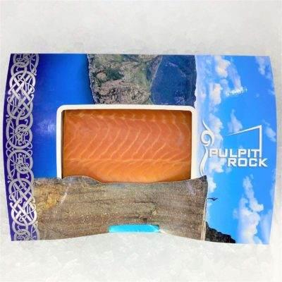Air Flown Norway Fresh Smoked Salmon Pulpit Rock Loin 300g Fullpack