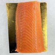 Air Flown Norway Fresh Smoked Salmon Pulpit Rock Loin 300g Unpack