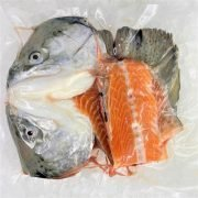 Air Flown Norway Fresh Trout Head And Bones Front