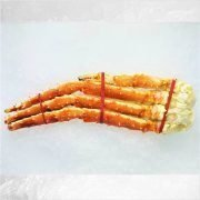 Frozen Chili Red King Crab Cooked Single Leg 2 Pieces 300g Unpack.jpg