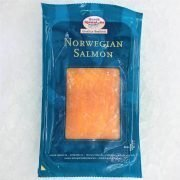 Frozen Norway Norsk Sjomat Smoked Salmon Pre Sliced 100g