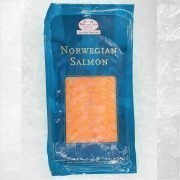 Frozen Norway Norsk Sjomat Smoked Salmon Pre Sliced 500g