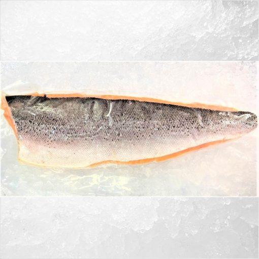 Frozen Norway Salmon Fillet Whole Boneless Skin On 1.4kg Skin