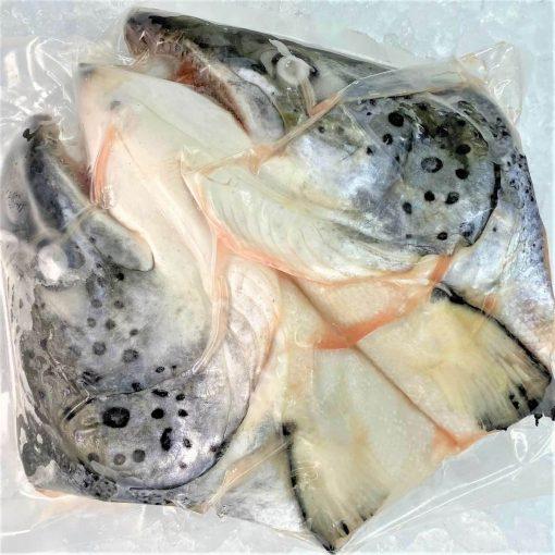 Frozen Norway Salmon Head And Bones Skin