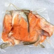 Frozen Norway Salmon Trout Head And Bones Meat