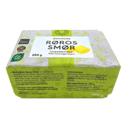 Scandinavian Goodies Dairy Butter 250g Roros Back