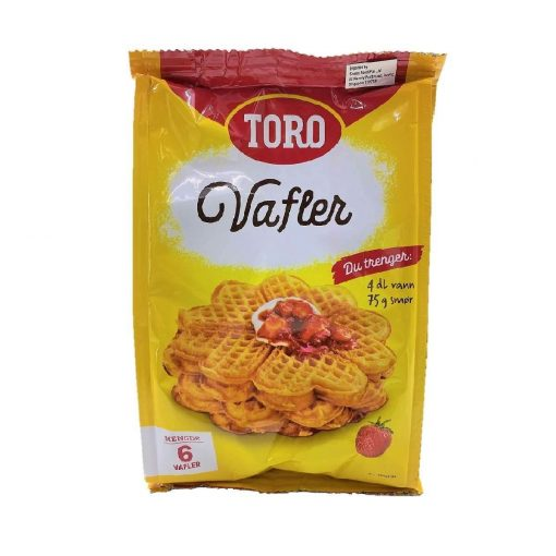Scandinavian Goodies Dry Packet Waffle Mix 246g Front