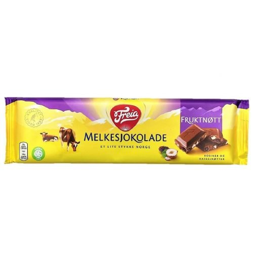 Scandinavian Goodies Fruit Nut Milk Chocolate 200g Front
