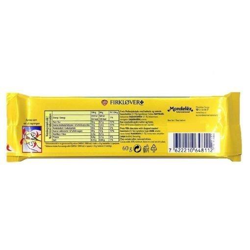 Scandinavian Goodies Hazelnut Milk Chocolate Firklover 60g Back