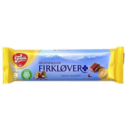 Scandinavian Goodies Hazelnut Milk Chocolate Firklover 60g Front