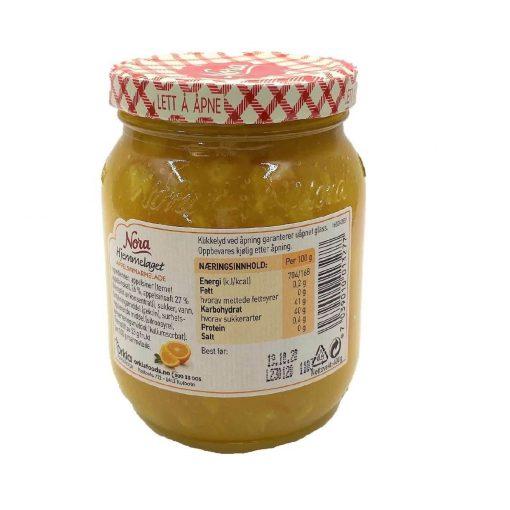 Scandinavian Goodies Jams Orange Marmelade Back