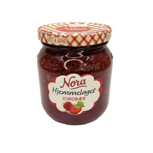 Scandinavian Goodies Jams Strawberry Front