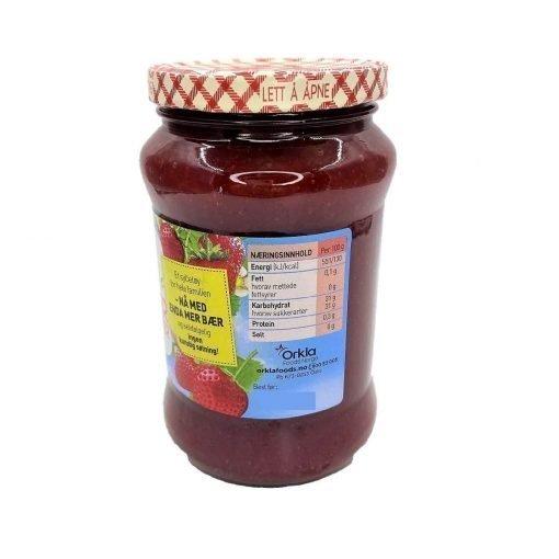 Scandinavian Goodies Jams Strawberry Less Sugar Left