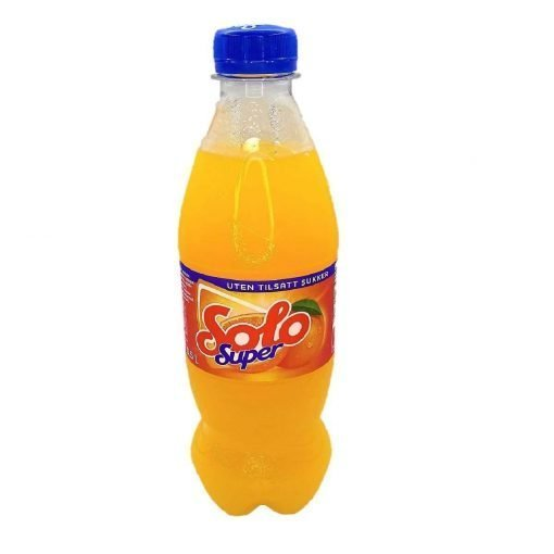 Scandinavian Goodies Others Solo Super Lemonade Without Added Sugar 500ml Front