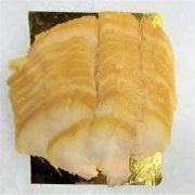 Smoked Greenland Halibut Fillet Pre Sliced 250g Unpack