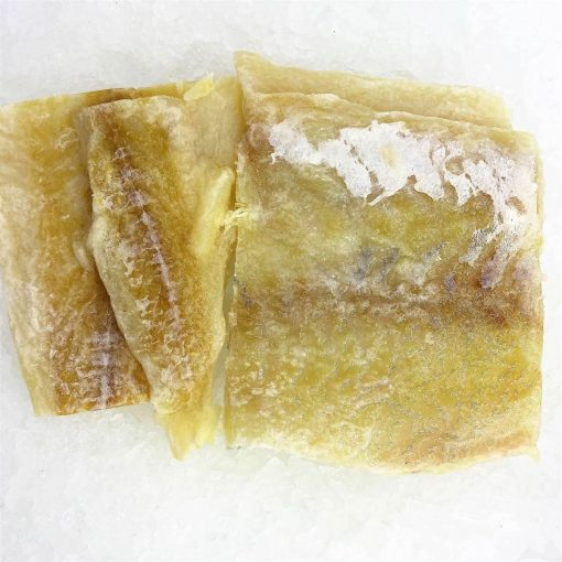 Smoked&marinated Dry Salted Cod In Pieces Skinoff&boneless 500g Unpack