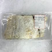 Smoked&marinated Dry Salted Cod In Pieces Skinon Bonein 1kg Pack