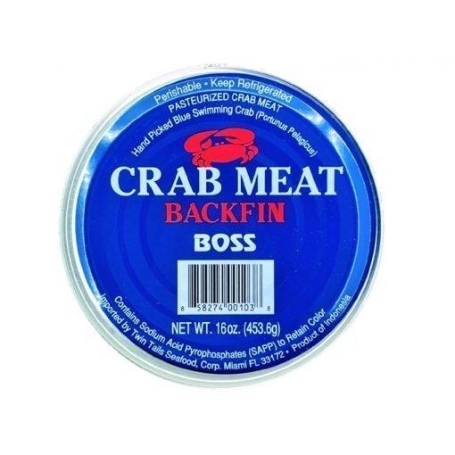 Frozen Indonesia Boss Blue Swimming Crab Meat Backfin 454g .jpg