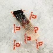 Frozen Malaysia Barramundi Fillet Portioned Skin On Boneless 200g Pack Skin