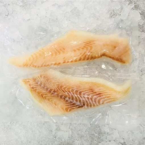 Frozen Norway Greenland Halibut Fillet Portioned Skin Off Boneless 2x150g Pack Meat