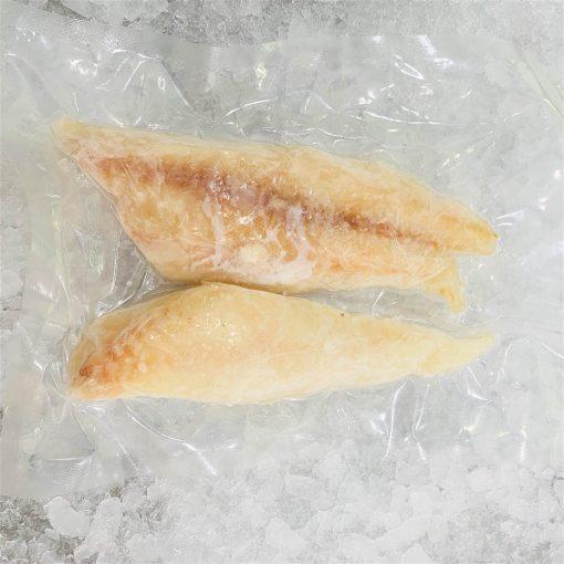 Frozen Norway Haddock Portioned Skinless Boneless 300g Pack Meat