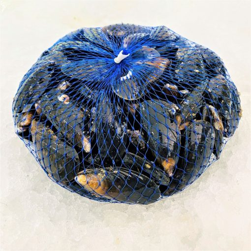 Air Flown Scotland Fresh Blue Mussels 1kg Back