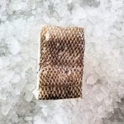 Frozen Chilean Sea Bass Fillet Portioned 200g Unpack Skin