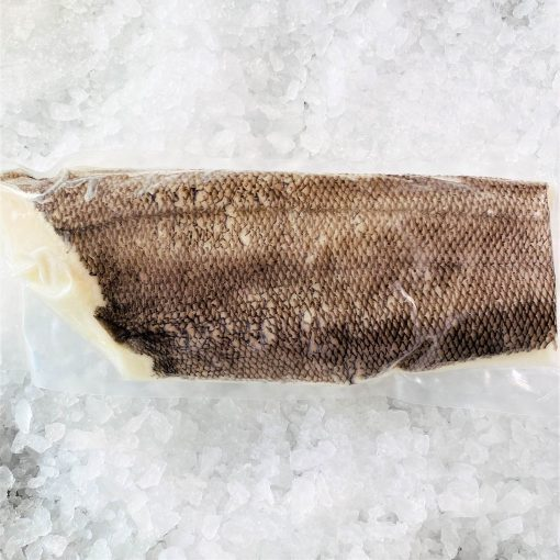 Frozen Chilean Sea Bass Whole Fillet 1.5kg Pack Skin
