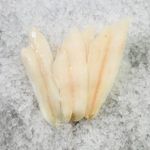 Frozen Denmark Lemon Sole Whole Fillet Skin Off Boneless 300g Unpack Meat