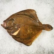 Frozen Denmark Turbot Whole Fish Gutted 3kg Unpack