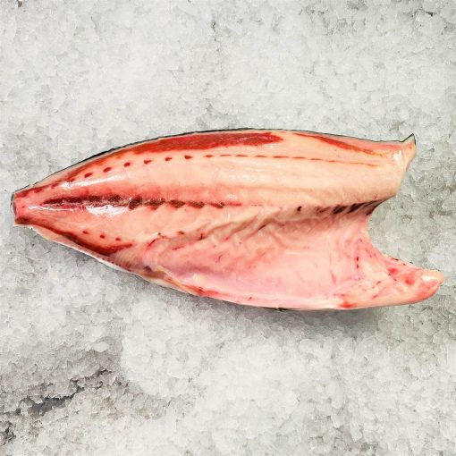 Frozen Japan Yellowtail Kingfish Hamachi Sashimi Grade Whole Fillet Skin On Bone In 1.8kg Unpack Meat