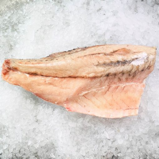 Frozen Malaysia Barramundi Whole Fillet Skin On Boneless 800g Unpack Meat