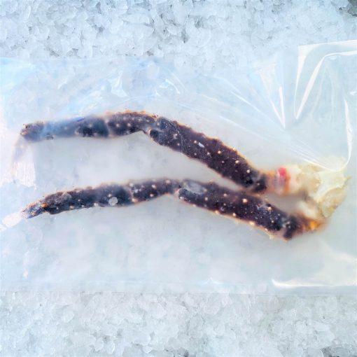 Frozen Norway Alaskan Red King Crab Raw Single Leg 300g Pack Pack