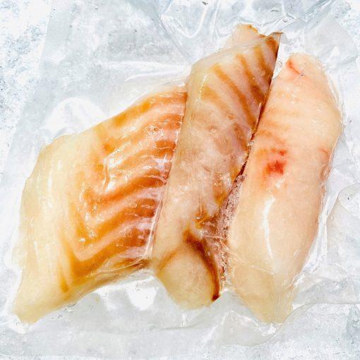Frozen Norway Atlantic Cod Portion 80 100g X 3pcs 250g Pack