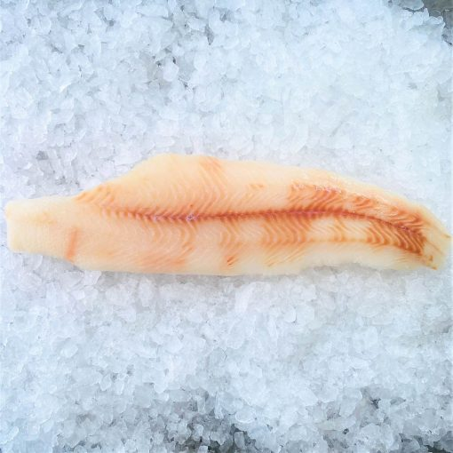 Frozen Norway Greenland Halibut Cutlet Skin Off Boneless 400g Unpack
