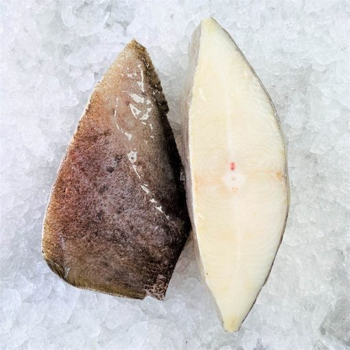 Frozen Norway Greenland Halibut Cutlet Skin On Bone In 500g Unpack