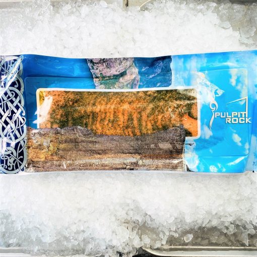 Frozen Norway Norsk Sjomat Gravlax Dill Marinated Salmon Pre Sliced 1kg Top