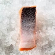 Frozen Norway Salmon Fillet Portioned Boneless Skin On 200g Unpack Skin