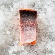 Frozen Norway Salmon Trout Fillet Portioned Boneless Skin On 200g Unpack Skin