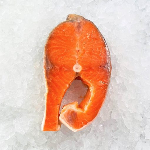 Frozen Norway Salmon Trout Steak Cut Cutlet With Skin And Bone In 250g Unpack