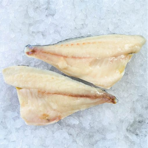 Frozen Sea Bream Mediterranean Portioned Skin On Boneless 160g X2 Unpack Meat