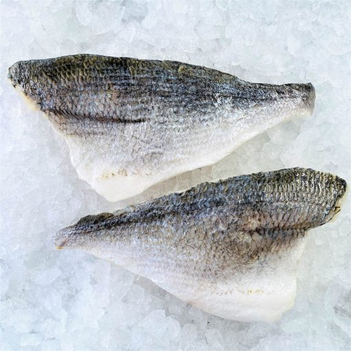 Frozen Sea Bream Mediterranean Portioned Skin On Boneless 160g X2 Unpack Skin