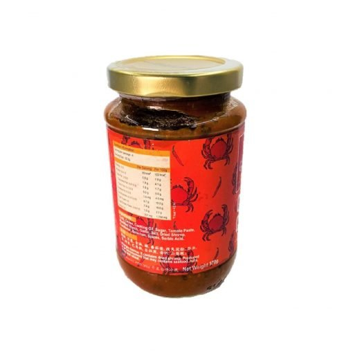 Sauce Chef Eric Teo Chilli Crab Sauce 370gm Back