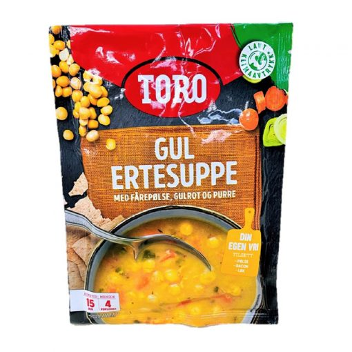 Scandinavian Goodies Dry Packet Yellow Pea Soup Gul Ertesuppe 146g Front