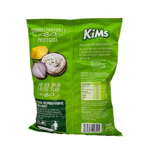 Scandinavian Goodies Others Kims Sour Cream 250g Back
